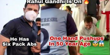Rahul Gandhi abs